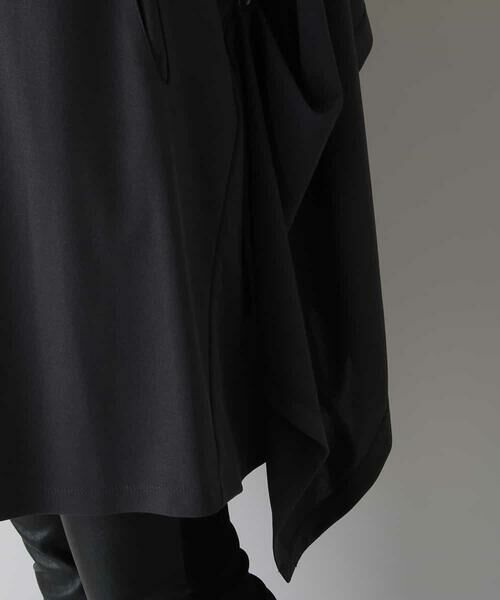 HIROKO KOSHINO / ヒロココシノ セットアップ | 【洗える/日本製】ノーカラードレープジャケット | 詳細7