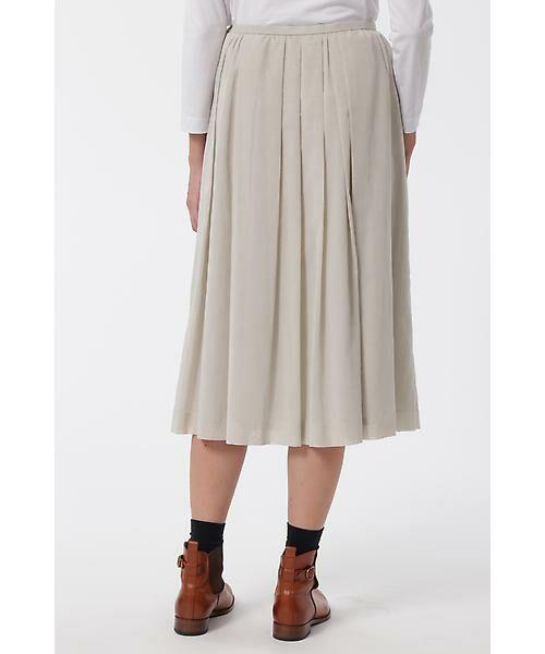 HUMAN WOMAN / ヒューマンウーマン スカート | 100/2コットンオーガンジースカート | 詳細4