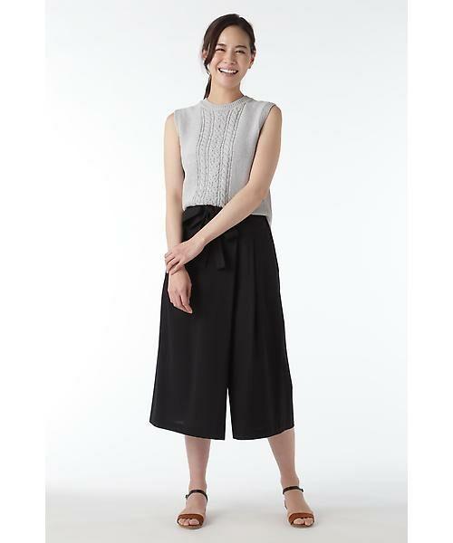 HUMAN WOMAN / ヒューマンウーマン ニット・セーター   ホールガーメントベスト   詳細13