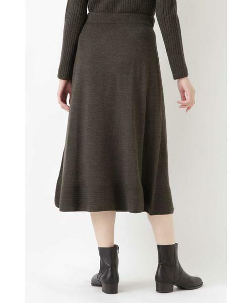 HUMAN WOMAN / ヒューマンウーマン スカート | ◆セミフレアースカート | 詳細11