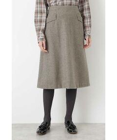 シャークツィードフレアスカート