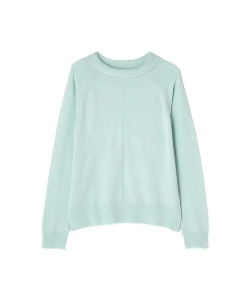 HUMAN WOMAN / ヒューマンウーマン ニット・セーター | 柄編み使いラグランプルオーバー | 詳細1