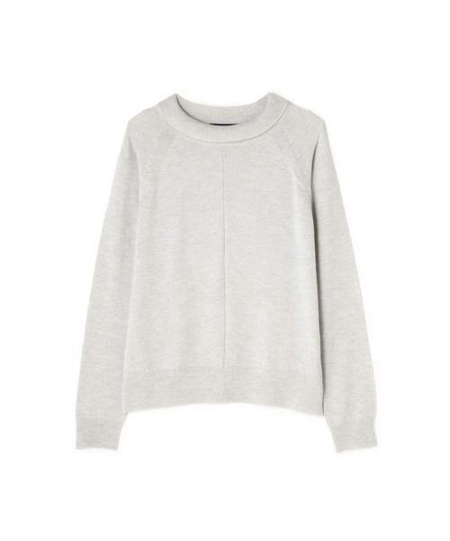 HUMAN WOMAN / ヒューマンウーマン ニット・セーター | 柄編み使いラグランプルオーバー | 詳細9