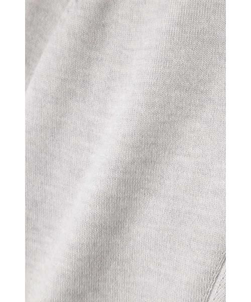 HUMAN WOMAN / ヒューマンウーマン ニット・セーター | 柄編み使いラグランプルオーバー | 詳細12