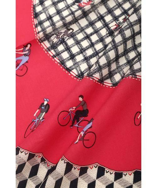 HUMAN WOMAN / ヒューマンウーマン マフラー・ショール・スヌード・ストール | ◆オリジナル サイクリング スカーフ | 詳細2