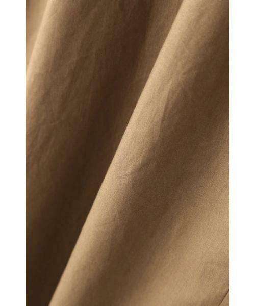 HUMAN WOMAN / ヒューマンウーマン ワンピース | ◆ダンプドビーシリコン リラックスワンピース | 詳細13