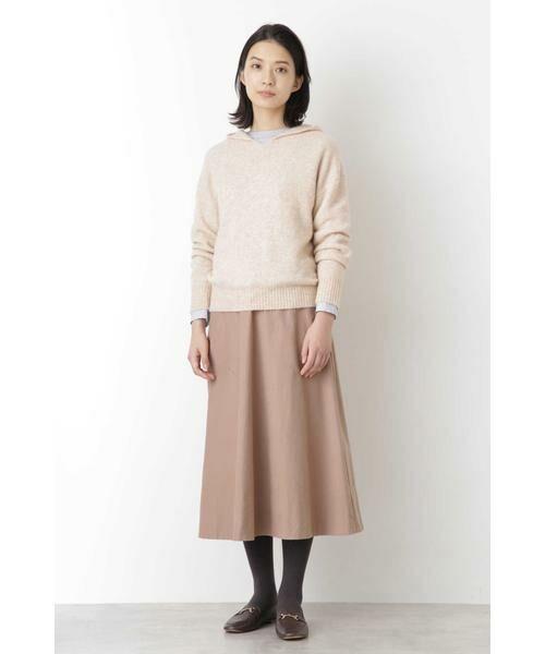 HUMAN WOMAN / ヒューマンウーマン スカート | ◆ライトモールスキンスカート | 詳細2