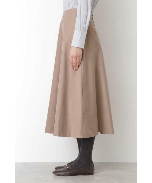 HUMAN WOMAN / ヒューマンウーマン スカート | ◆ライトモールスキンスカート | 詳細3