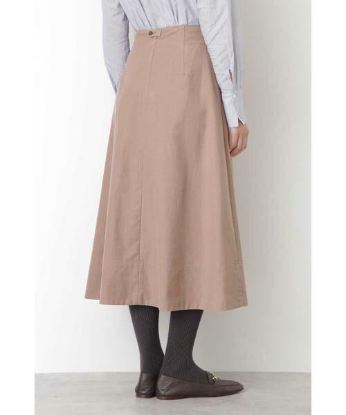 HUMAN WOMAN / ヒューマンウーマン スカート | ◆ライトモールスキンスカート | 詳細4