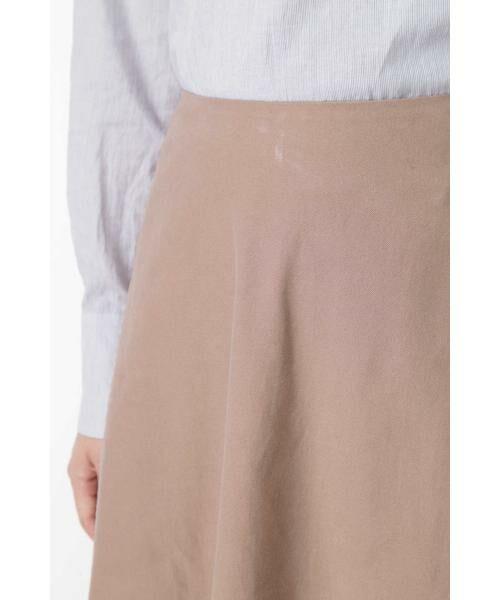 HUMAN WOMAN / ヒューマンウーマン スカート | ◆ライトモールスキンスカート | 詳細5