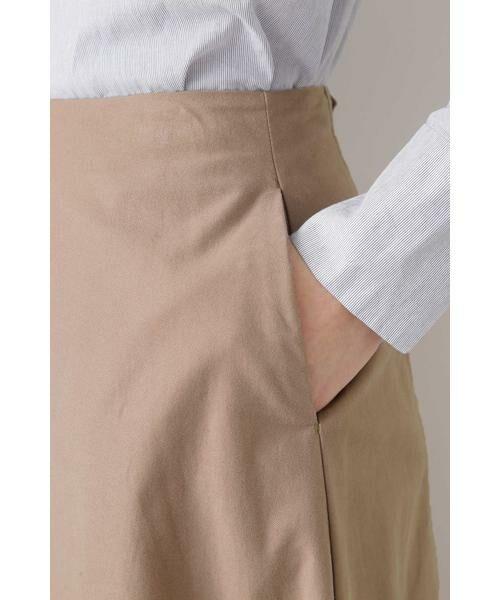 HUMAN WOMAN / ヒューマンウーマン スカート | ◆ライトモールスキンスカート | 詳細6