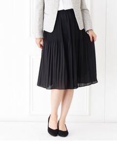 【フォーマル・結婚式対応】きれいめプリーツスカート