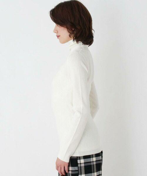 HusHusH / ハッシュアッシュ ニット・セーター   リブタートルニット   詳細2