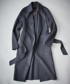 Wool Rever トレンチ型コート