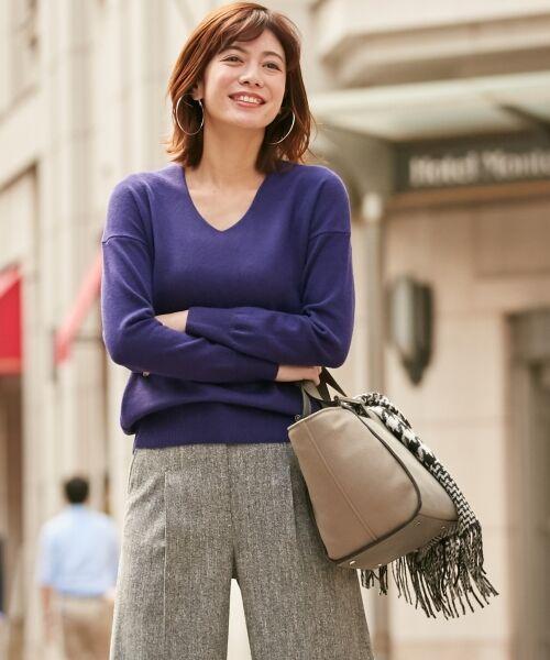 ICB / アイシービー ニット・セーター | 【カシミヤ混】Linda Vネックニット | 詳細27