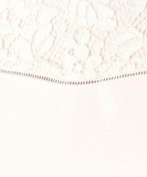 index / インデックス シャツ・ブラウス   レース切替スタンドカラーブラウス【WEB限定サイズ】   詳細14