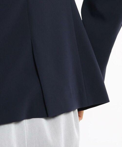 INDIVI / インディヴィ ノーカラージャケット | 【STYLE UP/マシンウォッシュ/UV/接触冷感】2WAY  カラーレスジャケット | 詳細10
