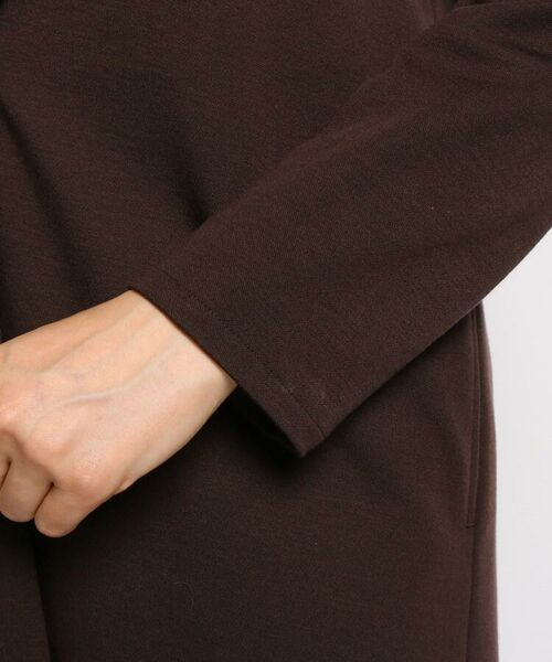 INDIVI / インディヴィ テーラードジャケット | ダブルフェイスロングジャケット | 詳細10