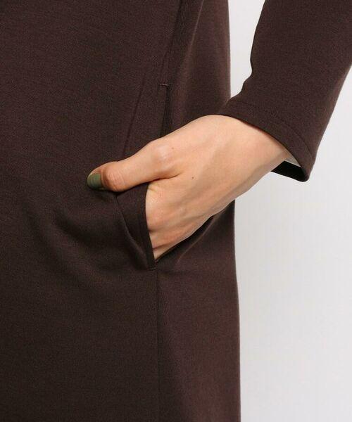 INDIVI / インディヴィ テーラードジャケット | ダブルフェイスロングジャケット | 詳細11