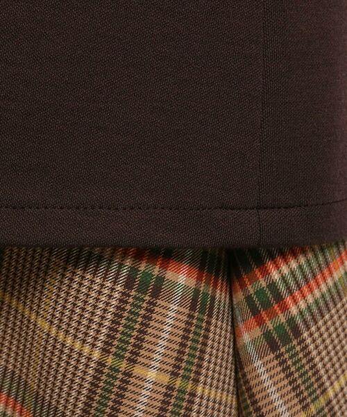 INDIVI / インディヴィ テーラードジャケット | ダブルフェイスロングジャケット | 詳細12