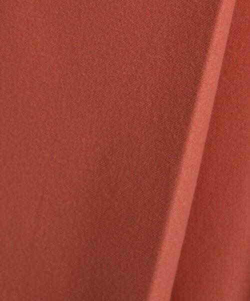 INDIVI / インディヴィ ミニ・ひざ丈スカート   【マシンウォッシュ】ラップ風ベルテッドスカート   詳細7