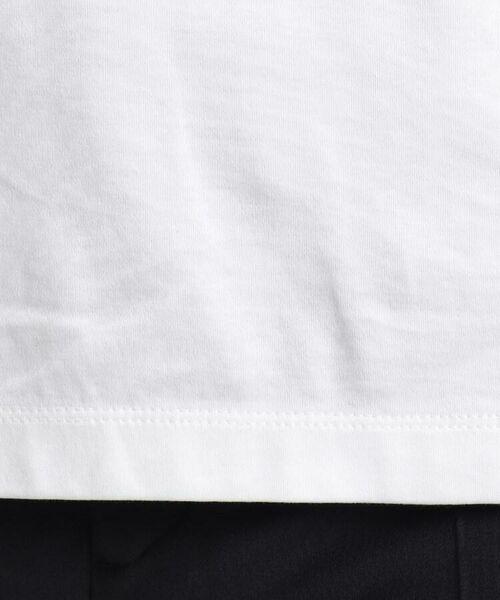 INDIVI / インディヴィ その他トップス   [L]【ハンドウォッシュ】ロゴスムースTシャツ   詳細12
