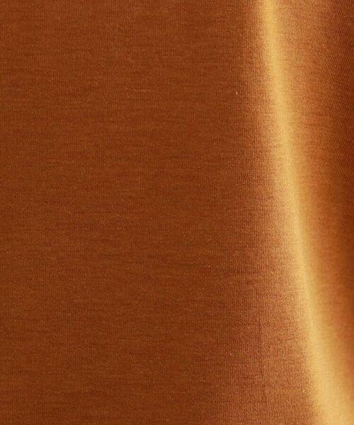 INDIVI / インディヴィ カットソー | 【ハンドウォッシュ】ボリュームスリーブカットソー | 詳細8
