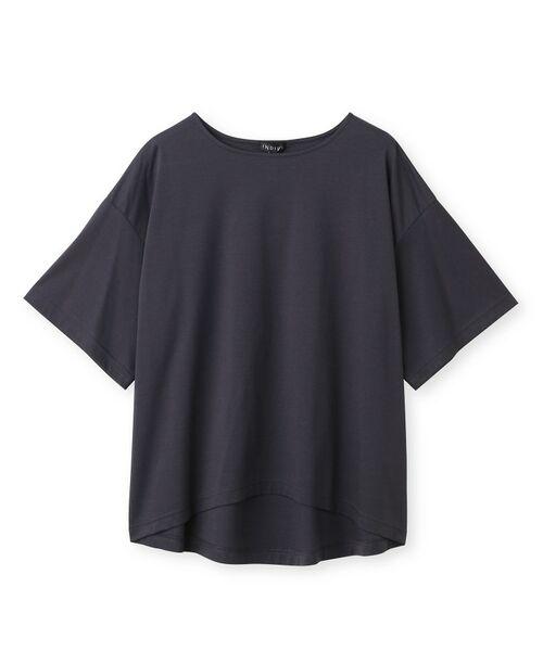 INDIVI / インディヴィ その他トップス | フレアスリーブルーズTシャツ | 詳細1