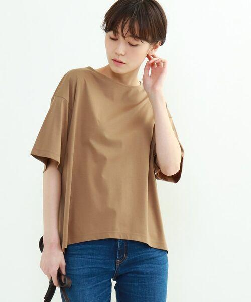 INDIVI / インディヴィ その他トップス | フレアスリーブルーズTシャツ | 詳細10