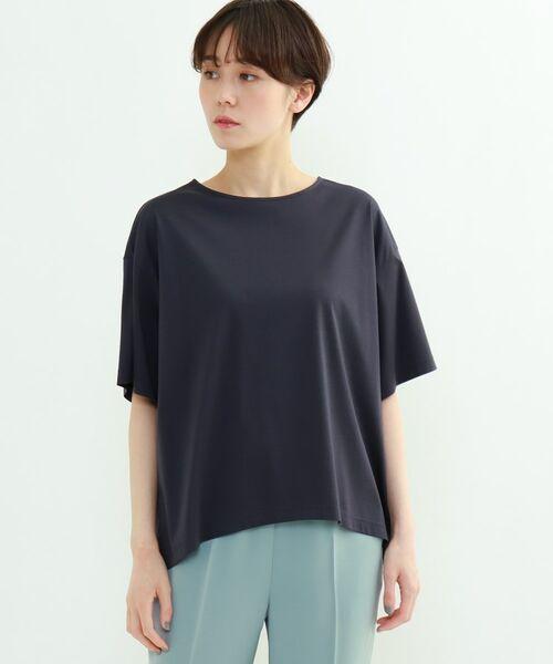 INDIVI / インディヴィ その他トップス | フレアスリーブルーズTシャツ | 詳細12