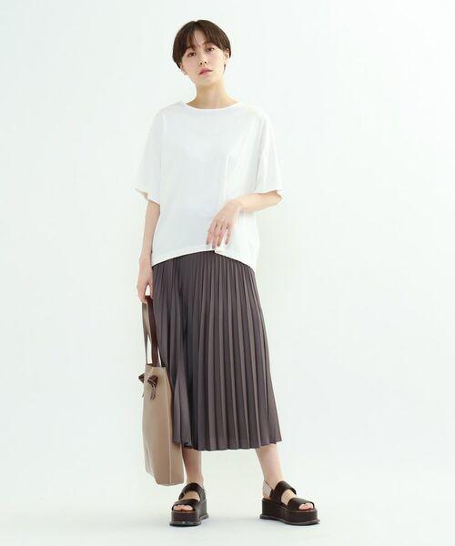 INDIVI / インディヴィ その他トップス | フレアスリーブルーズTシャツ | 詳細16