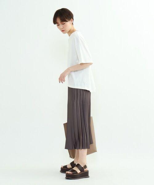 INDIVI / インディヴィ その他トップス | フレアスリーブルーズTシャツ | 詳細17