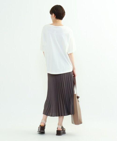 INDIVI / インディヴィ その他トップス | フレアスリーブルーズTシャツ | 詳細18