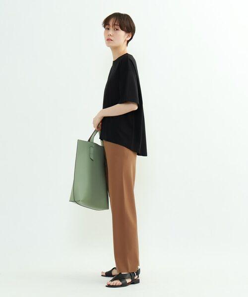 INDIVI / インディヴィ その他トップス | フレアスリーブルーズTシャツ | 詳細20