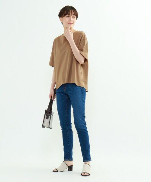 INDIVI / インディヴィ その他トップス | フレアスリーブルーズTシャツ | 詳細22