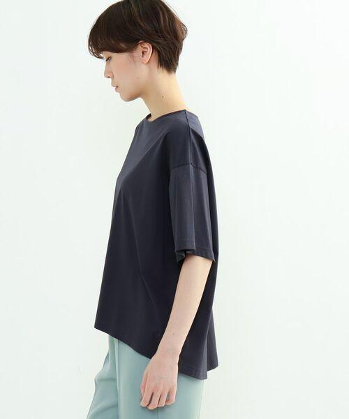 INDIVI / インディヴィ その他トップス | フレアスリーブルーズTシャツ | 詳細23