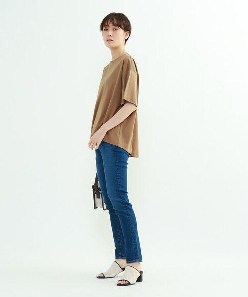 INDIVI / インディヴィ その他トップス | フレアスリーブルーズTシャツ | 詳細24