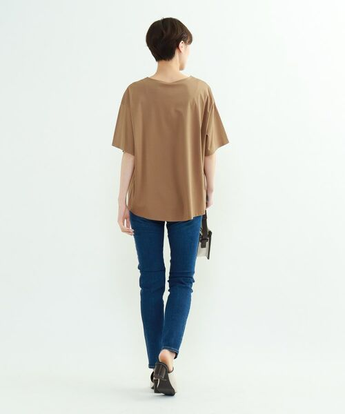 INDIVI / インディヴィ その他トップス | フレアスリーブルーズTシャツ | 詳細25