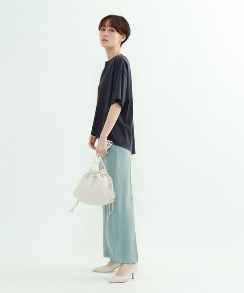 INDIVI / インディヴィ その他トップス | フレアスリーブルーズTシャツ | 詳細29