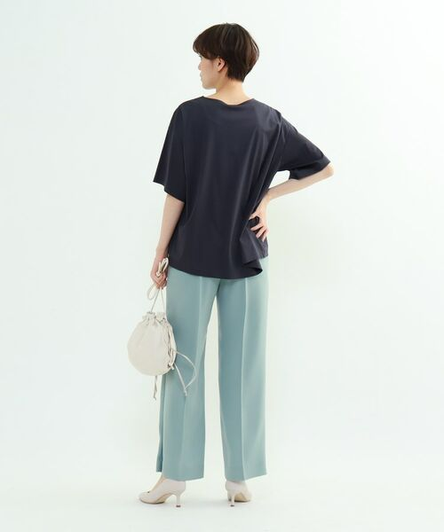 INDIVI / インディヴィ その他トップス | フレアスリーブルーズTシャツ | 詳細30