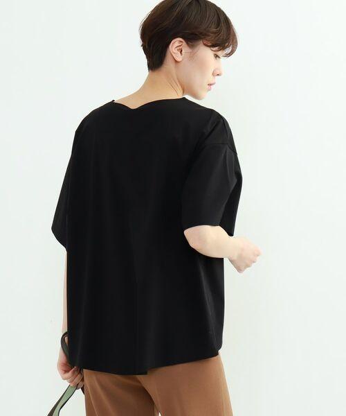 INDIVI / インディヴィ その他トップス | フレアスリーブルーズTシャツ | 詳細6