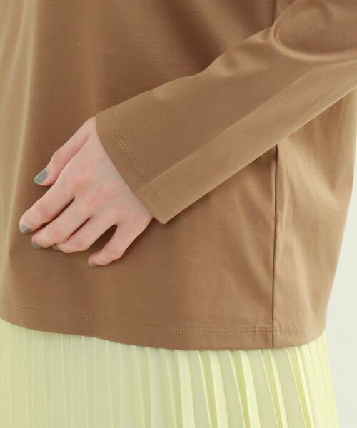 INDIVI / インディヴィ カットソー   スムースロングスリーブTシャツ   詳細22