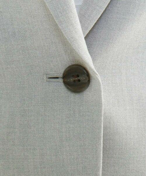 INDIVI / インディヴィ セットアップ | 【洗える】トリアセテート混テーラードジャケット | 詳細2