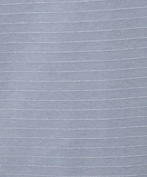 INDIVI / インディヴィ カットソー | 【WEB限定カラー】リップルタックスリーブトップス | 詳細18