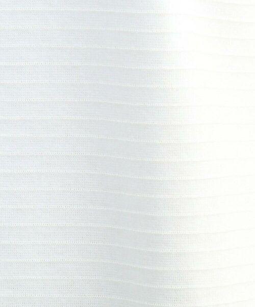 INDIVI / インディヴィ カットソー | 【WEB限定カラー】リップルタックスリーブトップス | 詳細5