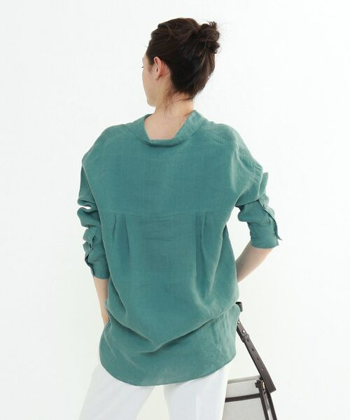 INDIVI / インディヴィ チュニック   ラミーボイルチュニックシャツ   詳細10