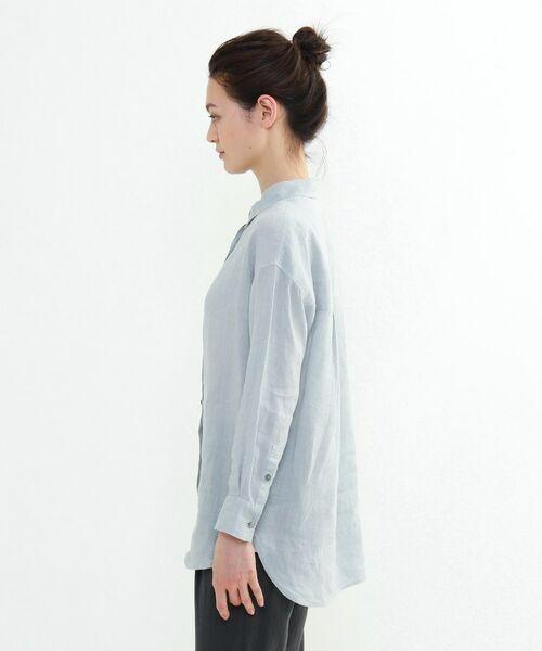 INDIVI / インディヴィ チュニック   ラミーボイルチュニックシャツ   詳細23