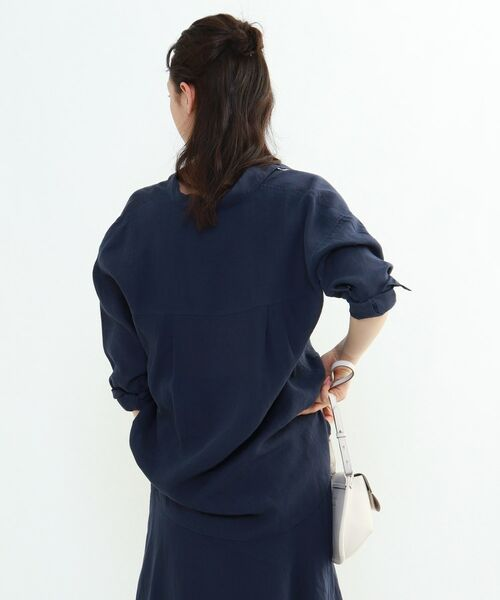 INDIVI / インディヴィ チュニック   ラミーボイルチュニックシャツ   詳細28