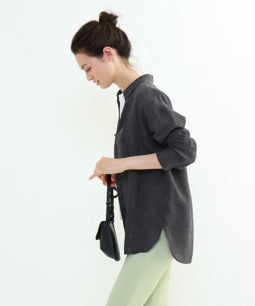 INDIVI / インディヴィ チュニック   ラミーボイルチュニックシャツ   詳細3