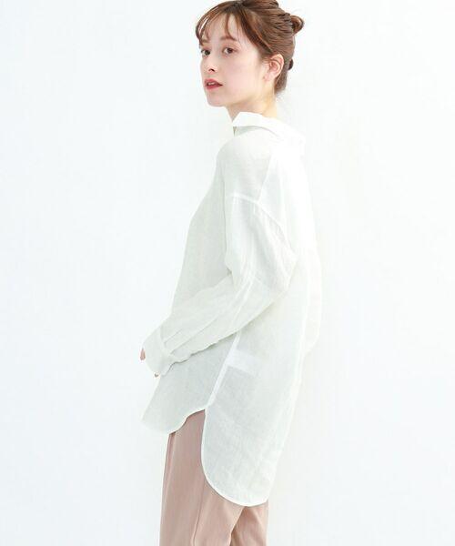 INDIVI / インディヴィ チュニック   ラミーボイルチュニックシャツ   詳細30